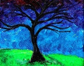 Tree In The Wind III (OIL PAINT)