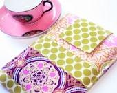 Kindle Sleeve Cover  Case  Nook, Nook Color, Kobo, Sony - Cozy -- Techee Gadget in Trinkets