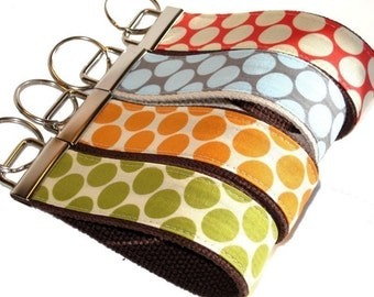 4 Pack Wrist Key Chain - Key Fob Wristlet Keychain -  Who Wants a Dot