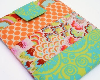 Kindle Sleeve,kindle Cover, kindle  Case,  Nook Case, Nook Sleeve, Nook Color, Kobo, Sony - Cozy -- Techee Gadget in Garden Gate