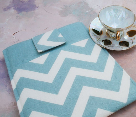 Kindle Case, Kindle Sleeve, Nook Case, Ereader Sleeve, Cover in Chevron Stripe, Gadget Cases and Covers, Ereader Accessories