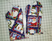 Sew Easy to Make Quilted Oven Mitt Pattern