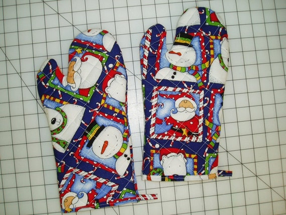 Free Patterns For Quilted Oven Mitts : Sew Easy to Make Quilted Oven Mitt Pattern