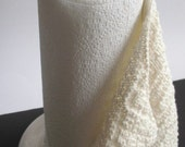 PDF Knitting Pattern / Reusable Paper Towel One Skein Project