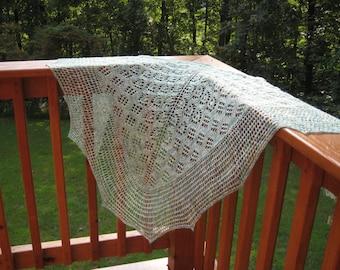 Knitting Pattern PDF / Artemis One Skein Shawl