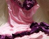 RESERVED For Katinka - SUPER SALE - So Girly - Vintage Slip Make Over