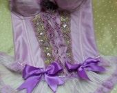 Violet Night - Vintage Bustier Make Over