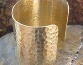 Cuff bracelet blank Textured 2 1/2 inchs 1393 - 1 pieces
