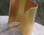 Brass 3 inch Wide Cuff Bracelet Blank 1174