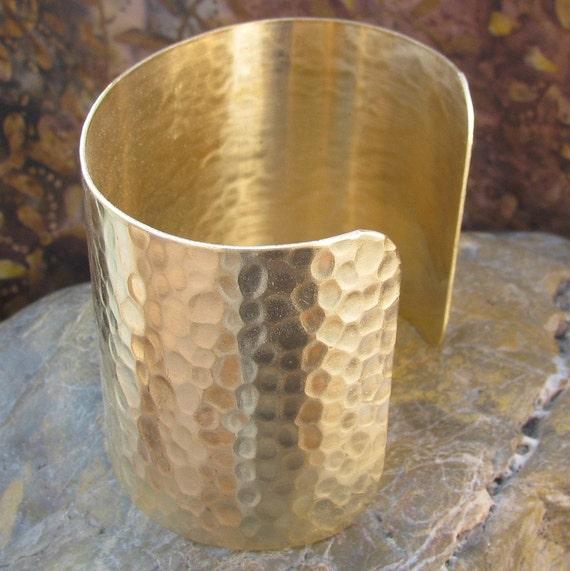 Cuff bracelet blank Textured 2 inchs 1127