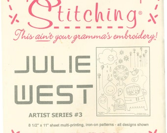 SUBLIME STITCHING embroidery pattern- Julie West