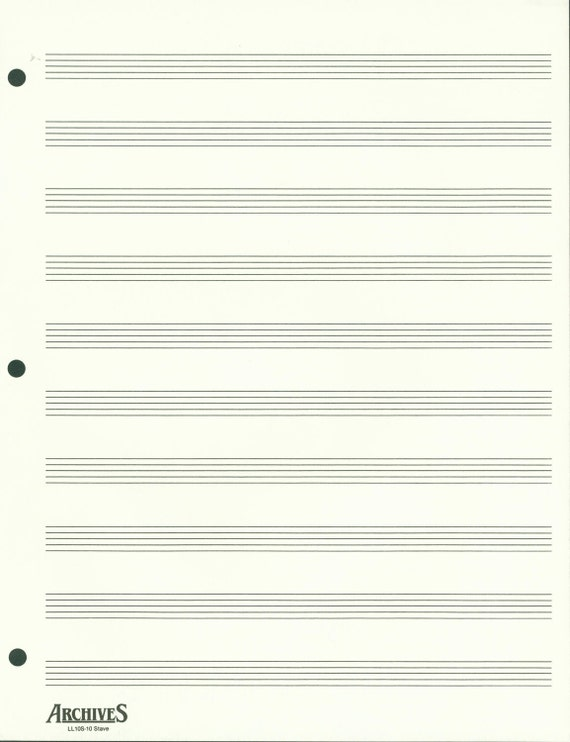 Order a paper on music staff