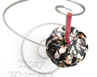 Unique Photo Ornament - Custom made - full service editing - photos galore - Christmas Holiday Birthday Graduation Reunion Vacation