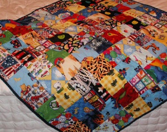 20 Percent Off--Baby/Toddler Quilt (Boy)
