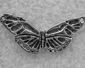 20% COUPON SALE~Green Girl Studios Pewter Butterfly Center Piece