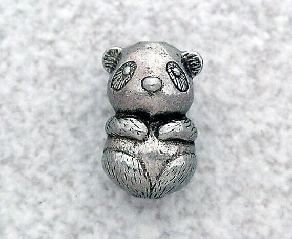 Green Girl Studios Panda Baby Bead