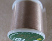 K.O. Beading Thread, Size B, 55 yds. (50m) 1 Spool Natural (08Na)