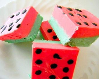 Julie's Fudge - WATERMELON - Half Pound