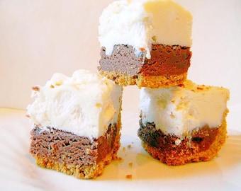 Julie's Fudge - S'MORES PIE w/Graham Cracker Crust - Over One Pound