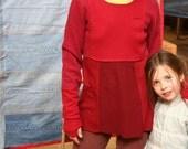 Burgundy Wine Cashmere Pullover Sweater
