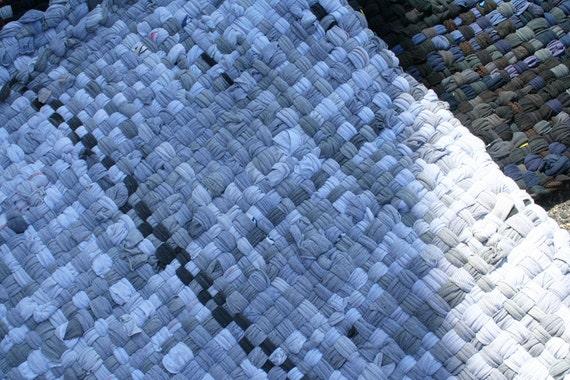 Potholder Rug 3 X 5 - Rain Cloud - Cotton