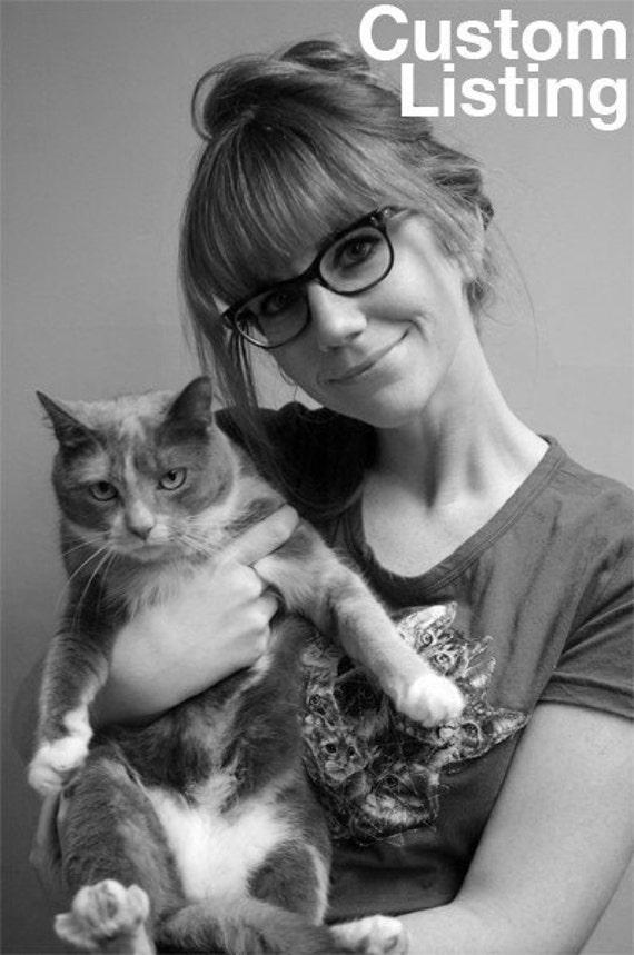 Custom Listing for eibinor Cat Parade Girly Fit Tee