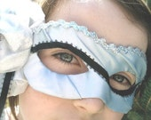 CUSTOM ORDER - Three Small Papier-Mache Masks fit for Princesses and Tea Parties