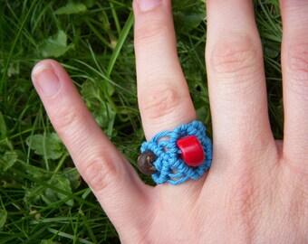 BOUNDLESS Macrame Hemp Ring