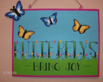 Butterflys  Bring  Joy