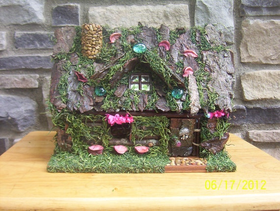 Fairy  House  summer of dreams  with white LED lights