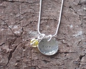 Walk with HOPE necklace...fundraiser for the National Multiple Sclerosis Society
