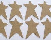 PRiMiTiVE STARS - Chipboard Die Cuts -  Alterable Craft Shapes