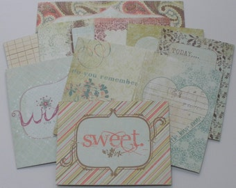 WiSHFUL JOURNAL KiT - Titles - Journal Spots - Quotes - Picture Cards  CHiPBOARD Embellishment Kit Die Cuts