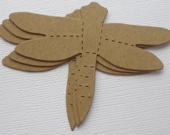 DRAGONFLiES -  Raw CHiPBOARD Dragonfly Bare Die Cuts