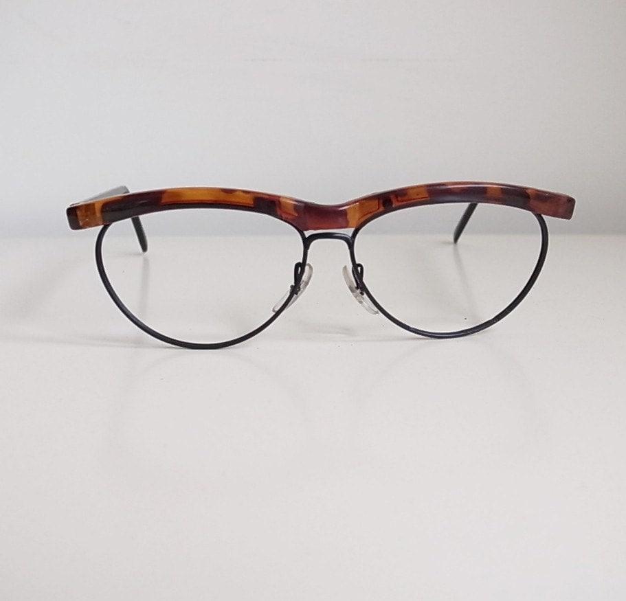 Half Frame Vintage Glasses : Vintage eyeglasses frame sale half frame wayfarer style
