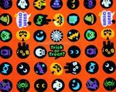 Halloween theme Japanese Fabric half meter nc14