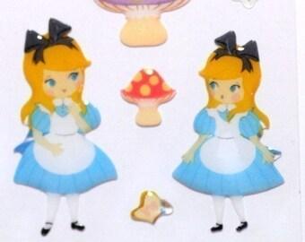 Alice in wonderland story theme Japanese sticker Disney Sticker ST2