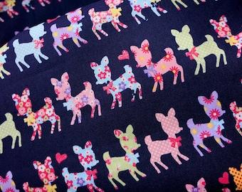 Japanese fabric bambi print last piece nc14