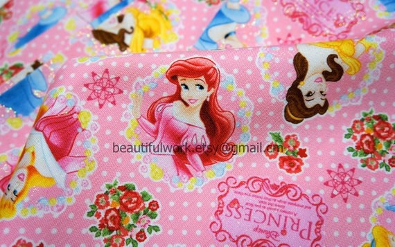 Disney Fabric Disney Princess fabric