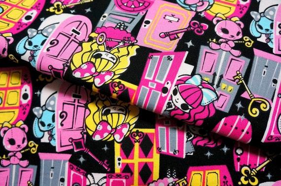 Lolita Harajuku Print Japanese fabric A3
