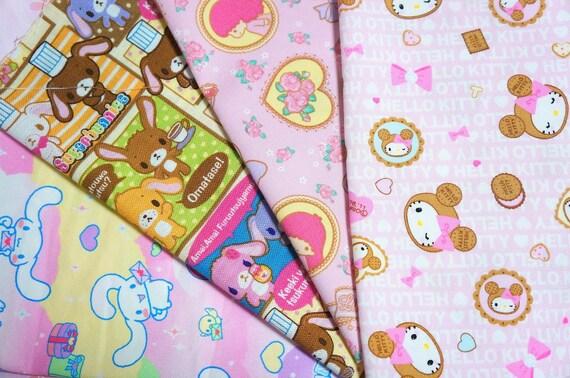 Sanrio   fabric scrap FEB82