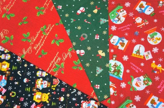 Christmas Fabric Scraps NU52