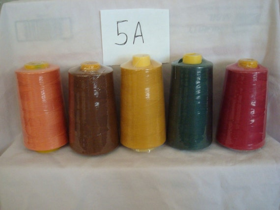 Sewing Serger Quilting Thread - Lot of 20 - 4000 yards each cone