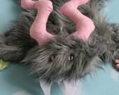 Minky Security Blanket - Mini Monster Ruggle