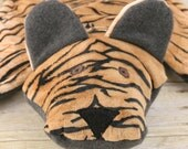 Minky Animal Security Blanket -Tiger Ruggle