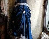 Harri - Custom made adjustable steampunk wedding corset gown