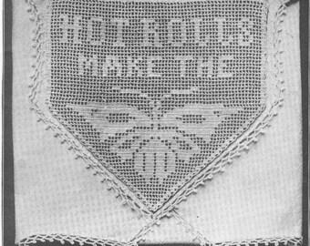 Vintage 1920s Crochet Pattern and Instruction Book PDF 2101 Flapper 20s DIY Vintage Trim
