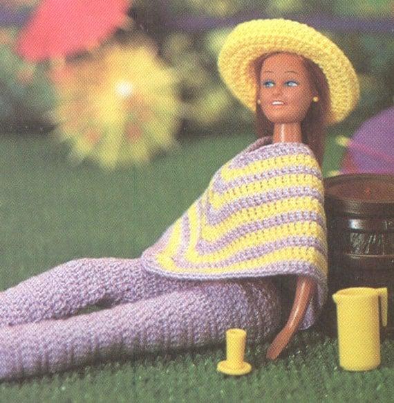 Vintage Knitting Patterns - Doll Clothes - Vintage BARBIE & KEN
