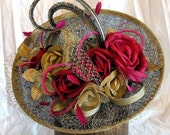 Mother of the bride hat/ Custom made to order