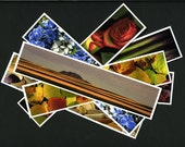 Bookmark Set - Your Choice of Images, 4 bookmarks, 2x8.5, heavy fine art paper, book friendly, reader friendly